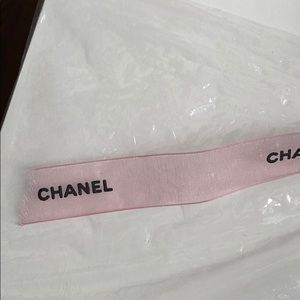 CHANEL Other - Pink Chanel Sparkly Ribbon